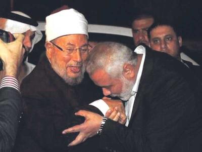 """""""Bergantung kepada Allah Yang Maha Kuasa, menyerupai pokok yang baik yang mempunyai buah-buahan yang cemerlang, digambarkan kedua-dua di dalam jiwa dan kehidupan individu dan mahupun ummat.""""  Prof. Dr. Syeikh Yusuf Abdullah al-Qaradawi . Pengerusi Ulama Sedunia"""